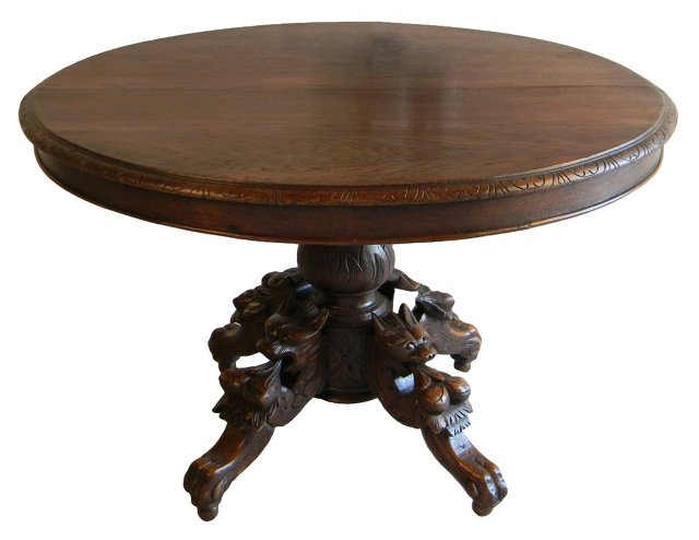Early-20th-C. French Dining Table