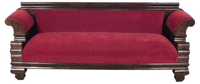 English Upholstered Sofa