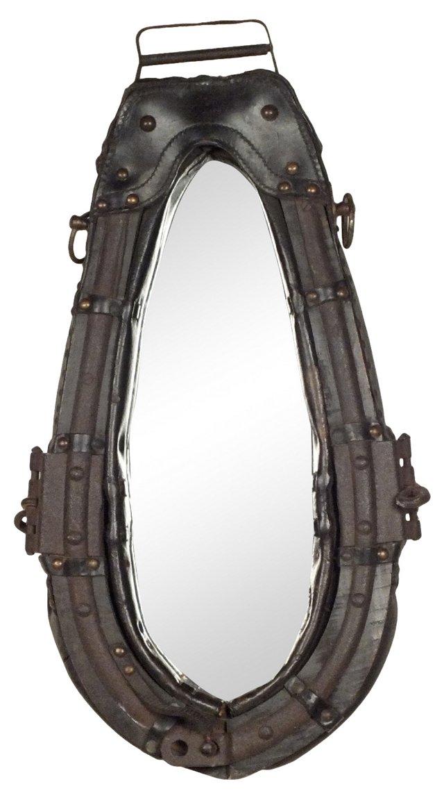 Harness-Framed Mirror