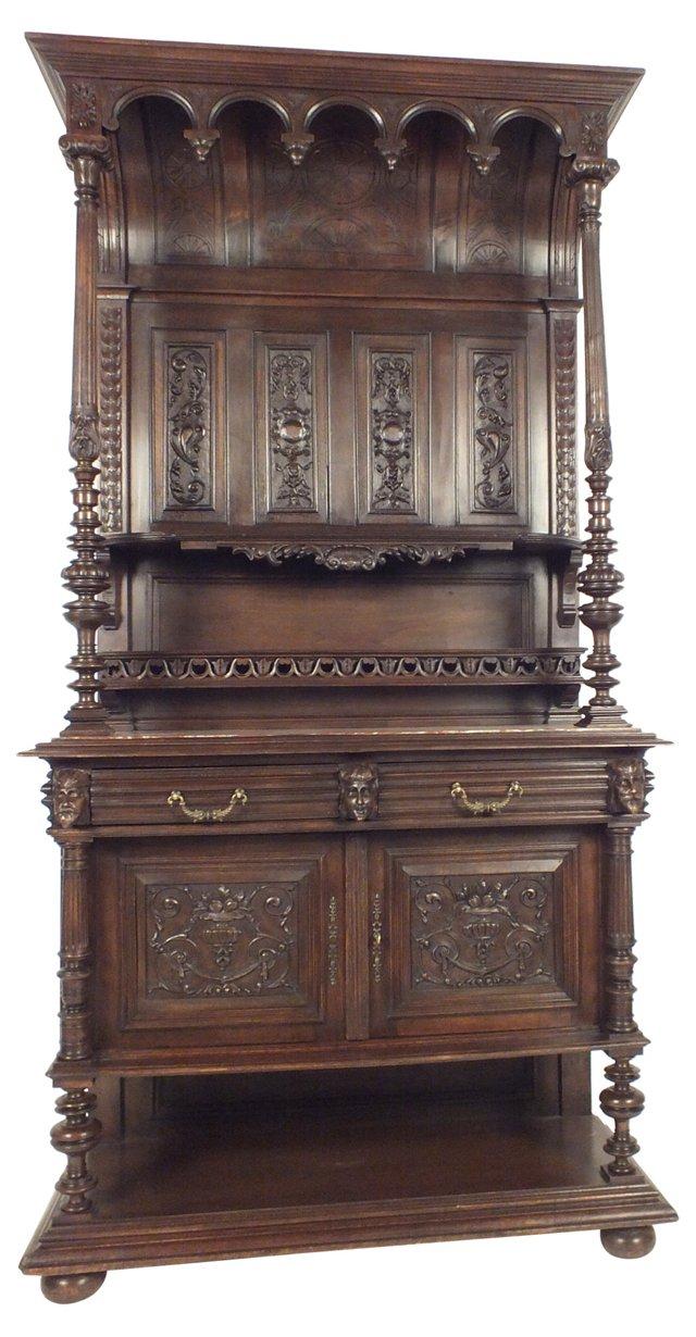 Henri II-Style Arch-Top Buffet