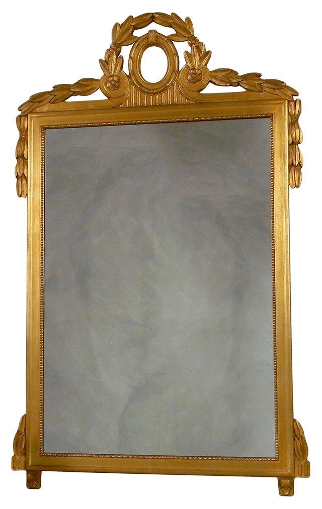 1950s Empire-Style Mirror