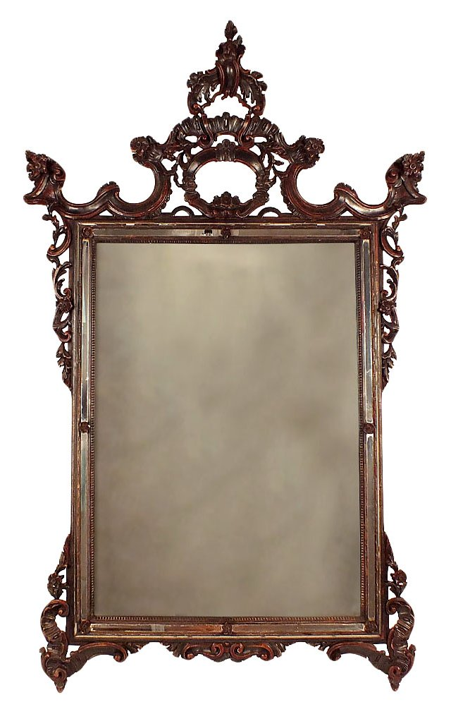 Baroque-Style Carved Mirror DELETE