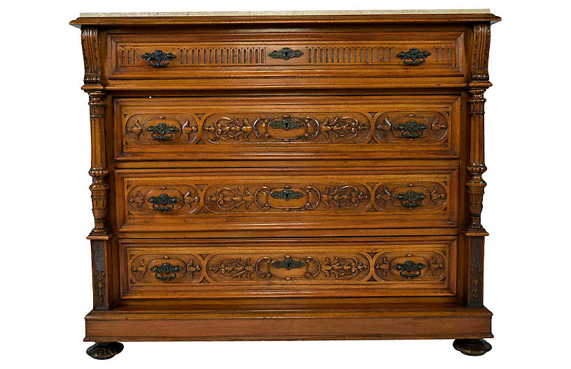 Renaissance-style Chest of Drawers