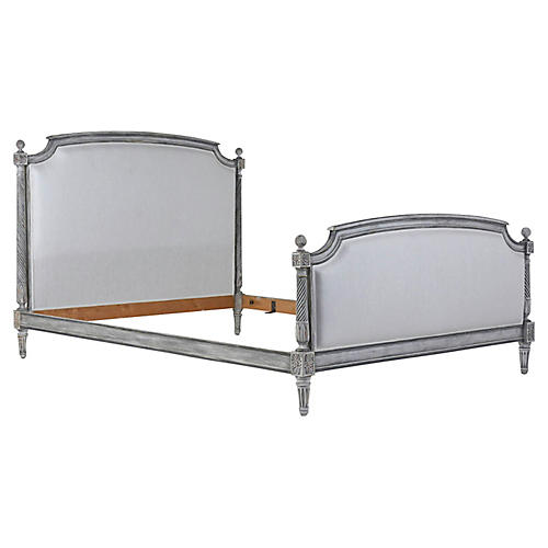 French Louis XVI-Style Full Bed Frame