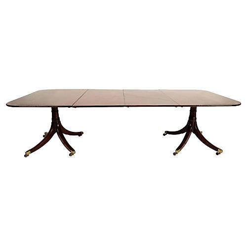 19th Century Regency Dining Table