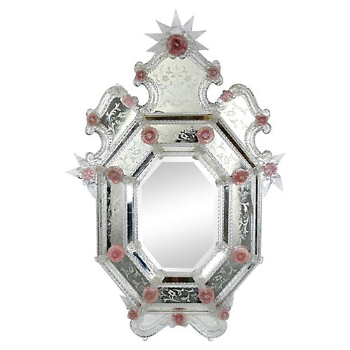 Venetian Etched Mirror