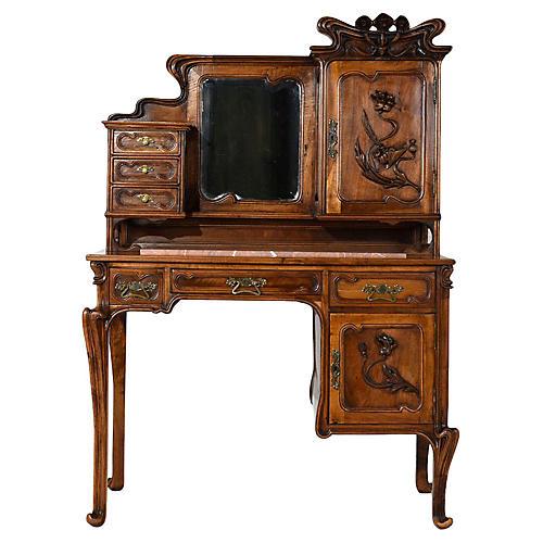 Early 20th Century Art Nouveau Desk