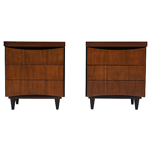 Pair of Mid-C. Martinsville Nightstands