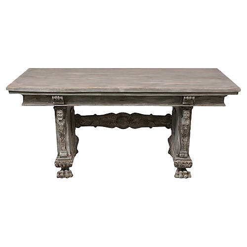 Antique Italian Renaissance Dining Table
