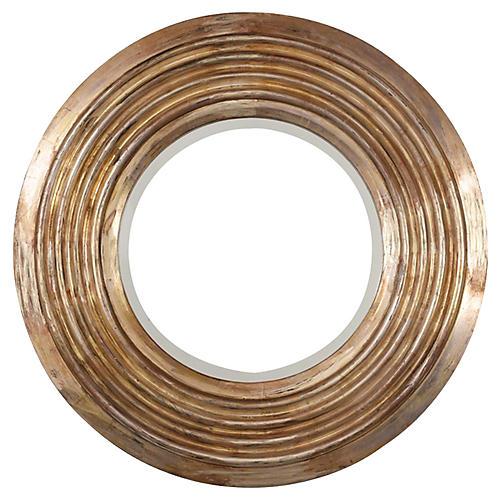 20th Century Italian Gilt-wood Circular
