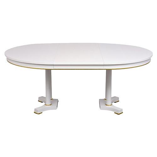 Regency Style Dining Table by Baker