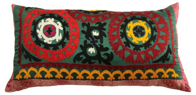 Multicolor    Suzani   Pillow