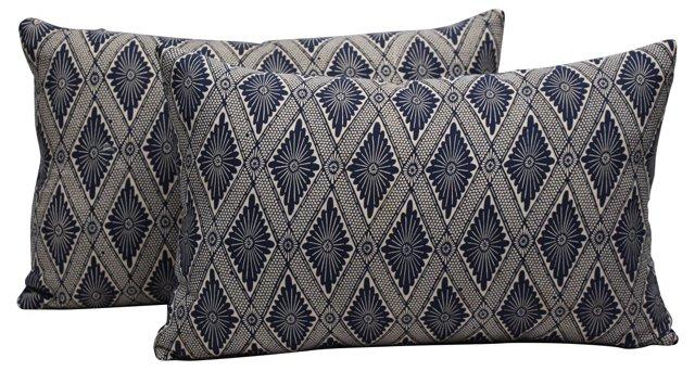 Kimono Pillows, Pair