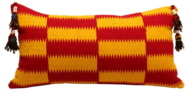 Tribal African & Uzbek Pillow