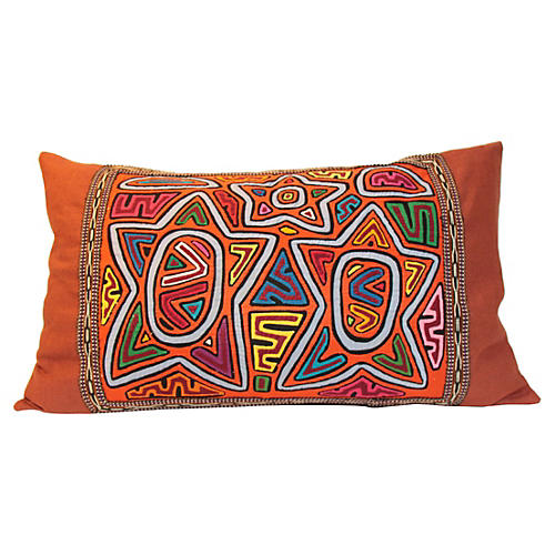 Kuna Star Pillow