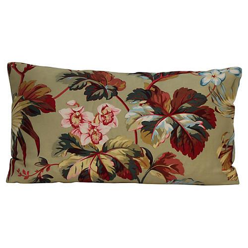 Sage Waverly Botanical Pillow
