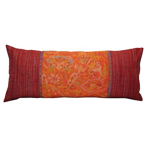 Uzbek Trim Kimono Pillow