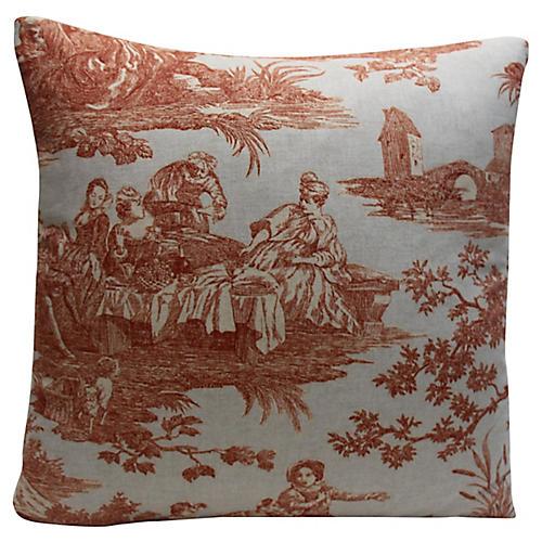 Toile Pillow