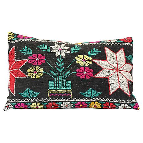 Two-Star Suzani Pillow