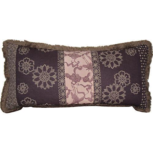 Kimono Fringe Pillow