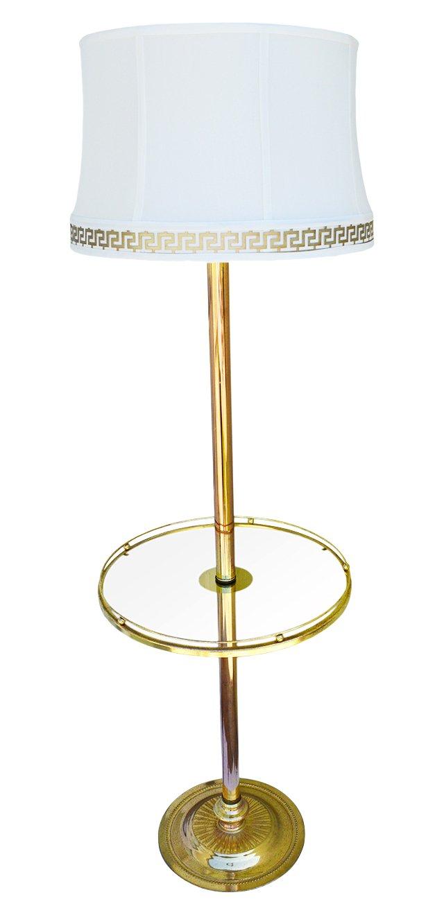 Floor Lamp w/ Table