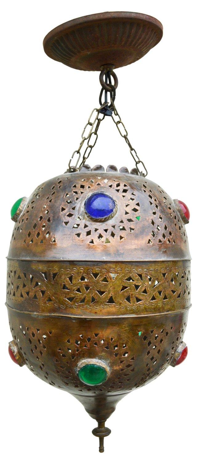Moroccan Iron Pendant