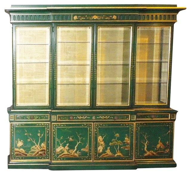 Karges Chinoiserie Hutch
