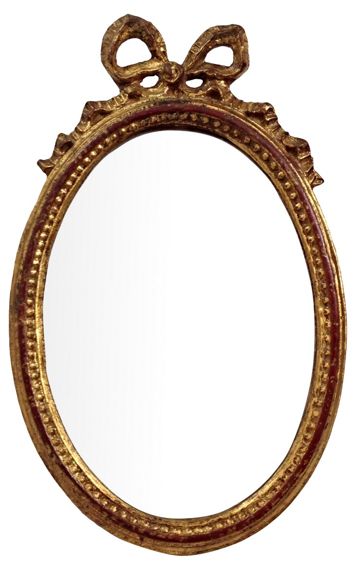 Florentine Mirror w/ Bow