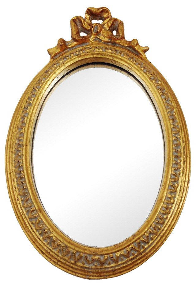 Giltwood Bow Mirror