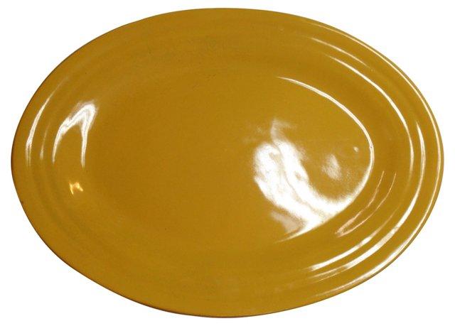 Yellow Bauer Platter