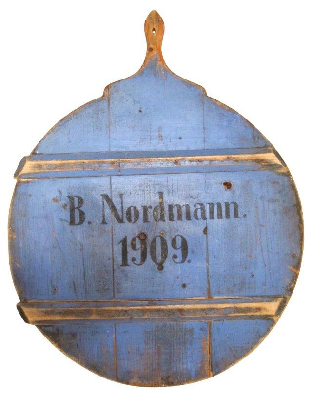 Antique Blue Cutting Board