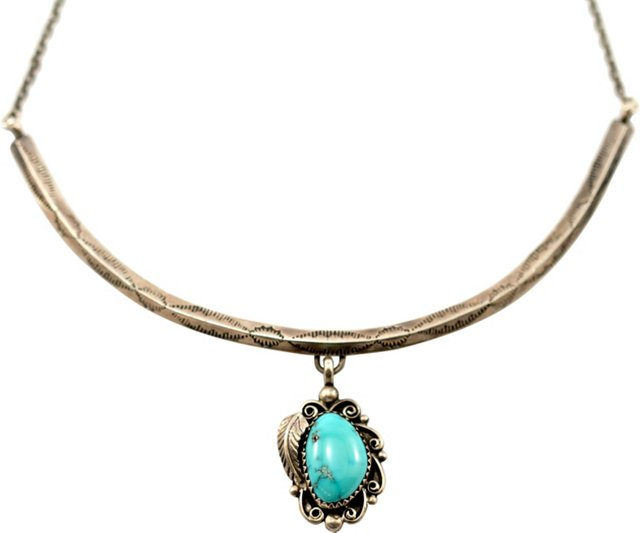Navajo Turquoise Collar Necklace