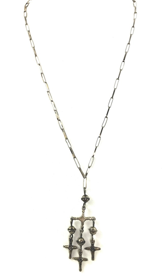 Mexican Yalalag Cross Necklace