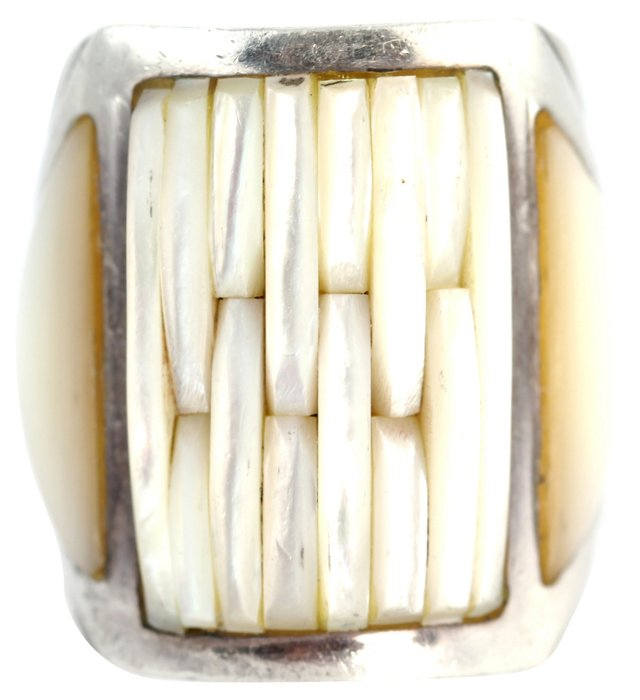 Southwestern Mother-of-Pearl Ring