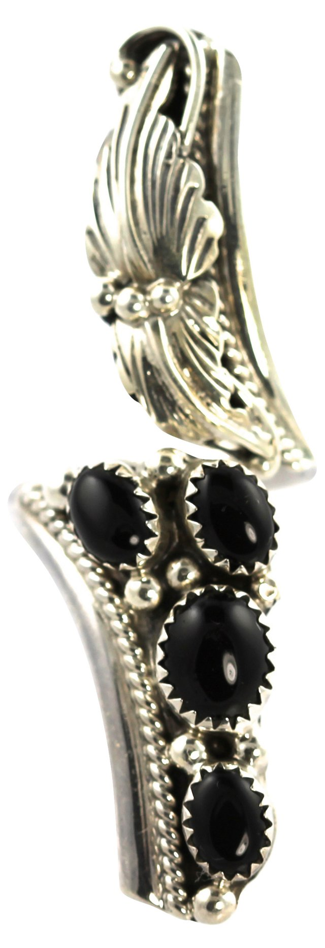 Navajo Onyx Bypass Ring
