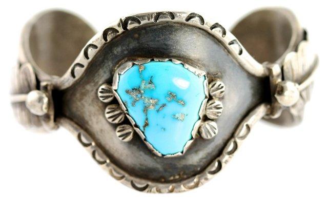 Navajo Blue Turquoise Bracelet