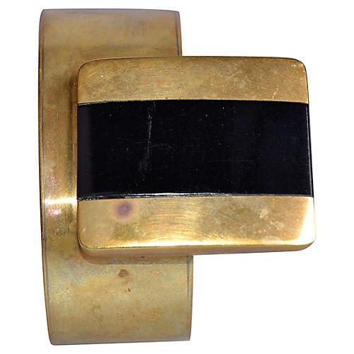 Handmade Solid Brass Bracelet