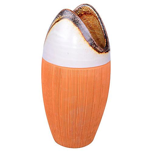 Midcentury Ceramic Raymor Pottery Vase