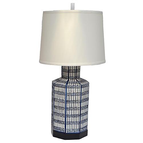 1970s Chapman Ceramic Table Lamp
