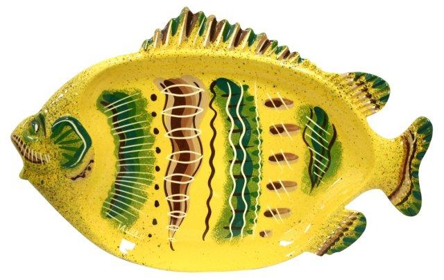 Sascha Brastoff Fish Platter