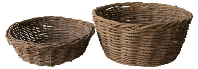 Harvest Baskets, Pair