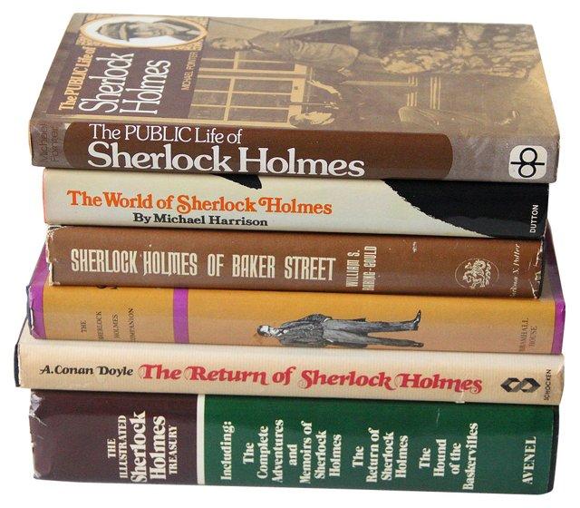 Sherlock Holmes, Set of 6