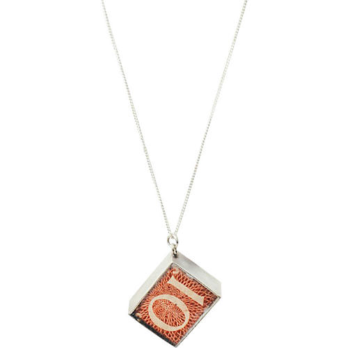 Silver Mad Money Charm Necklace