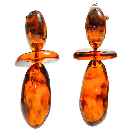 Monies Gerda Lynggaard Drop Earrings