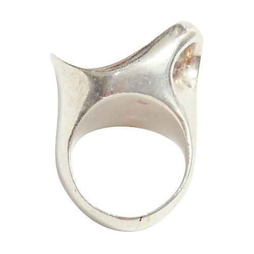 Modernist Sterling Silver Ring