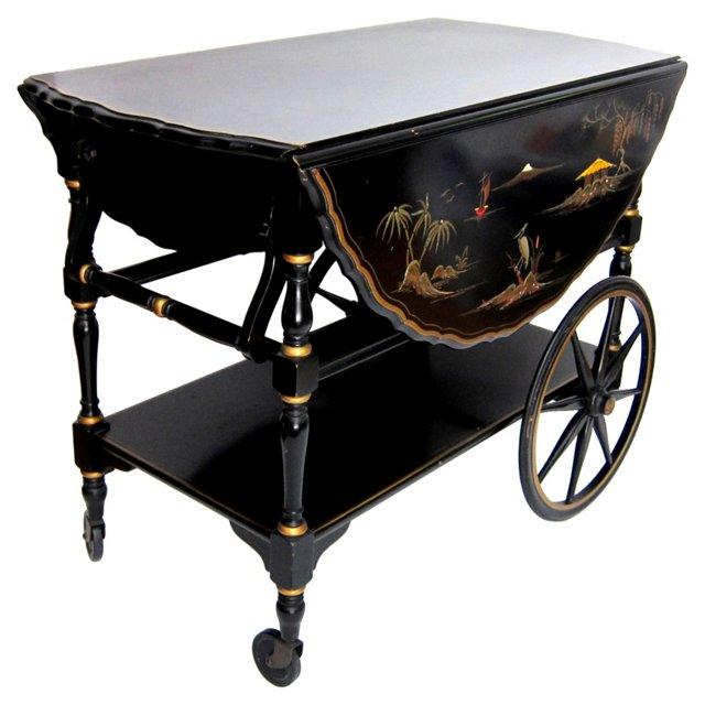 Chinoiserie Bar Cart