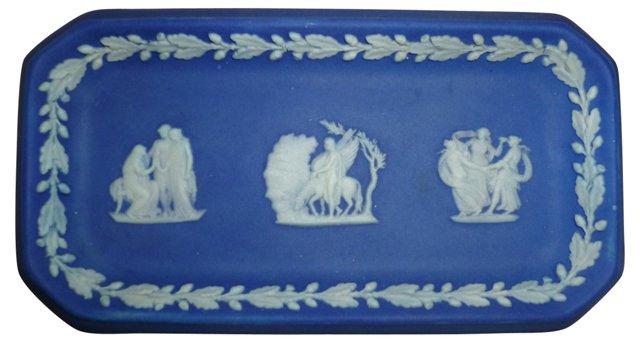 Blue Wedgwood Jasperware Dish