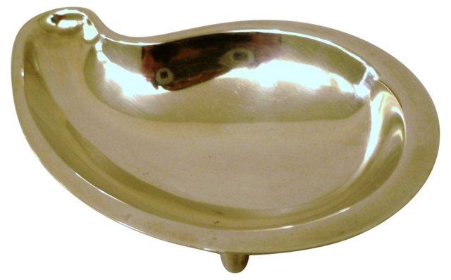 Hans Jensen Silver Teardrop Dish