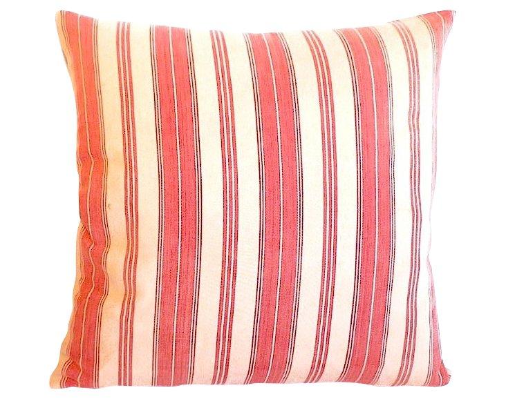 Mattress Ticking Pillow