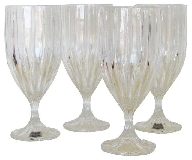 Iced-Tea Glasses, Set of 4